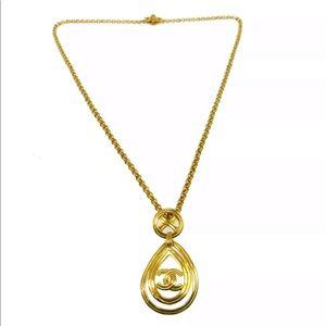Fabulous Authentic Chanel Chain Pendant Necklace